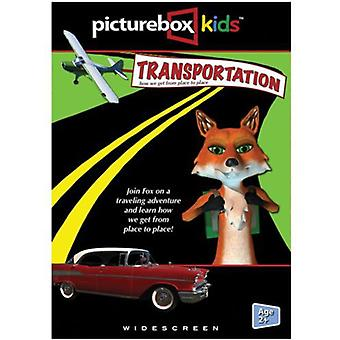PictureBox børn: Transport-hvordan vi får fra [DVD] USA import