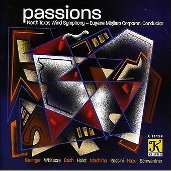North Texas Wind Symphony - lidenskaber [CD] USA importerer
