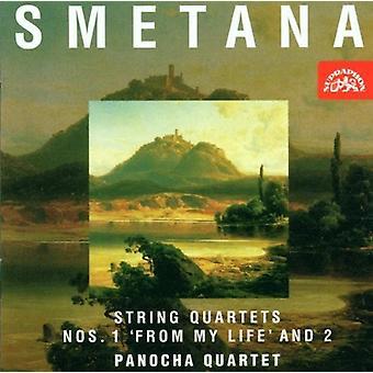 Panocha Quartet - Smetana: importación de USA de cuartetos de la secuencia 1 & 2 [CD]
