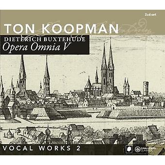 Ton Koopman - Buxtehude: Opera Omnia V: vokalværker, Vol. 2 [CD] USA import