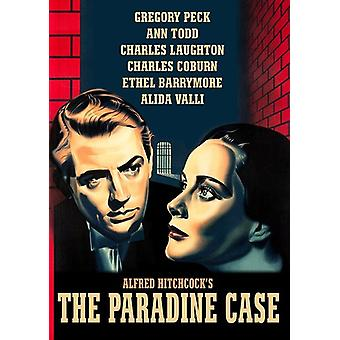 Paradine Case (1947) [DVD] USA import