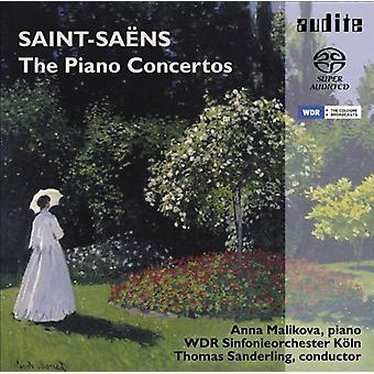 Malikova, Anna/Wdr Sinfonie Orch - Saint-Sa Ns: The Piano Concertos [SACD] USA import