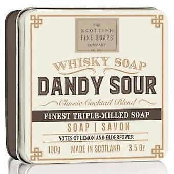 Scottish Fine Soaps Dandy Whisky Sour sapone In scatola 100g
