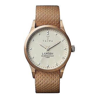 Triwa Unisex Watch wristwatch LAST117-MD010614 ivory Lansen leather