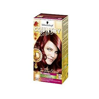 Schwarzkopf Country Colors 58 Grand Canyon - cuivre rouge