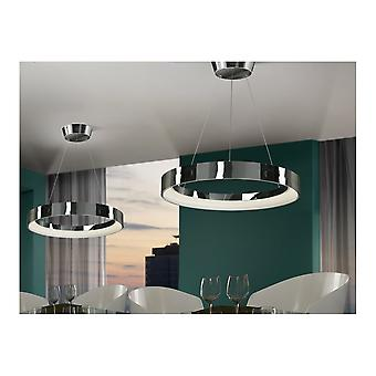 Schuller Schuller Cronos Chrome Ring LED Ceiling Lamp