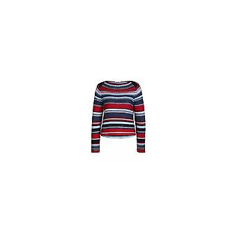 Oui 57003 Oui Chunky stribet Sweater