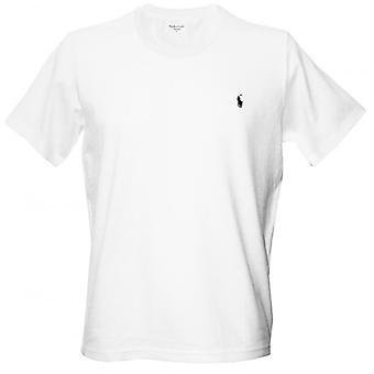 Polo Ralph Lauren Jersey katoen Crew-Neck T-Shirt, wit
