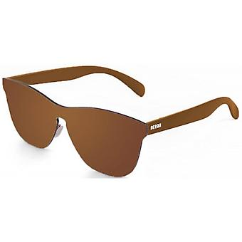 Ocean Florencia Flat Lense Sunglasses - Brown