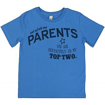 Spoilt Rotten Your In My Top 2 Parents Children's T-Shirt