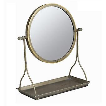 Bigbuy Silver mirror support - Collection Art & Metal (Home , Decoration , Mirrors)