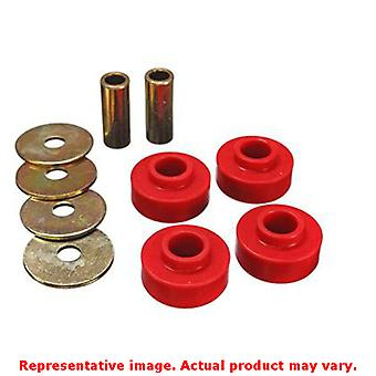Energy Suspension Differential Carrier Bushing 4.1126R Red Front Fits:FORD 1999