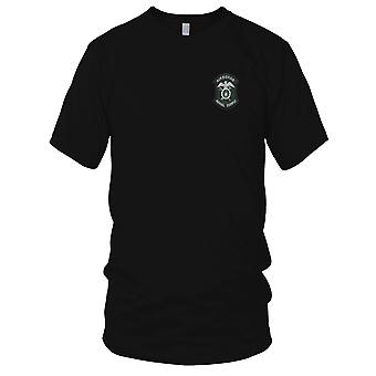 US Army - Army Air Airborne Aerial Supply Embroidered Patch - Mens T Shirt