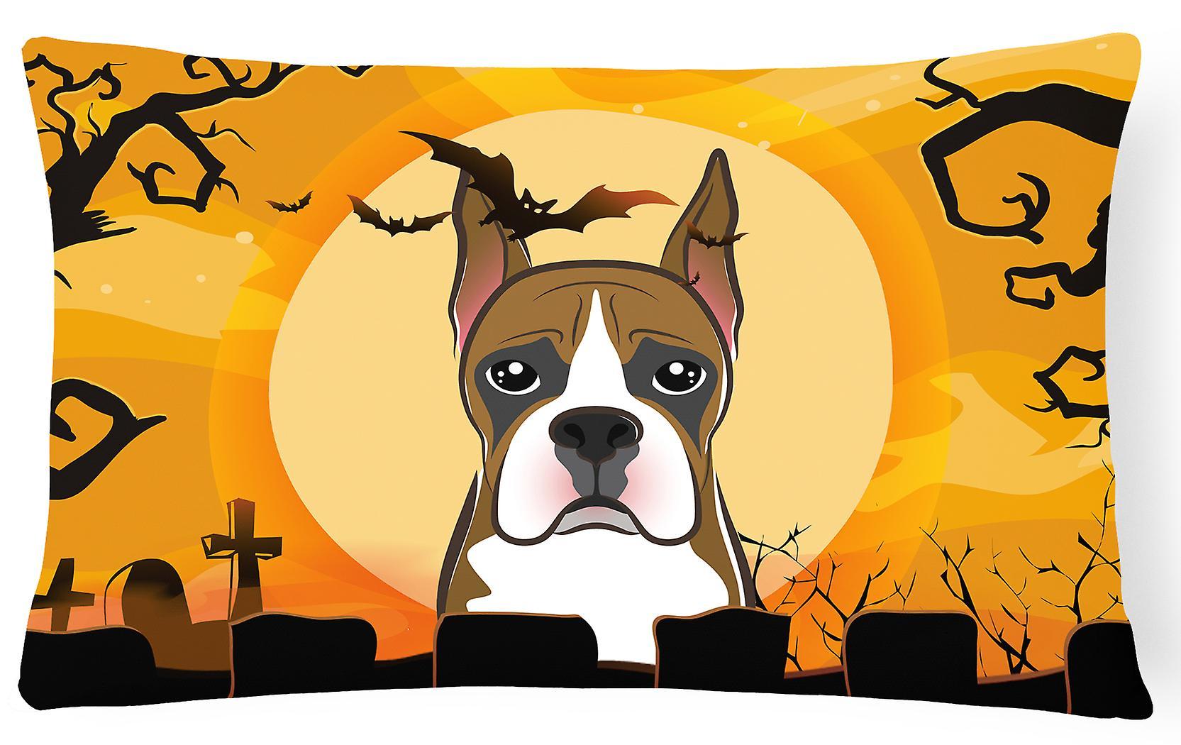 Des Halloween Oreiller Bb1781pw1216 Boxer Décoratif Carolines Trésors Tissu luJ31TKFc