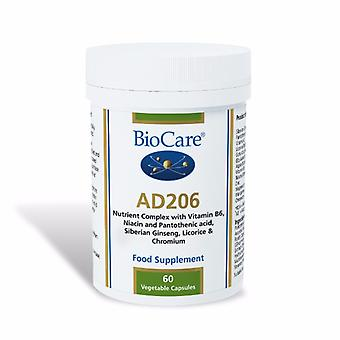 Biocare AD 206 (adrenal support with apple extract), 60 vegi caps