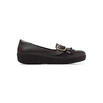 Women's Buckle Sneakerloafers - Chocolate Brown