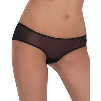 Roza Women's Lica Black Sheer Knickers Panty Brief