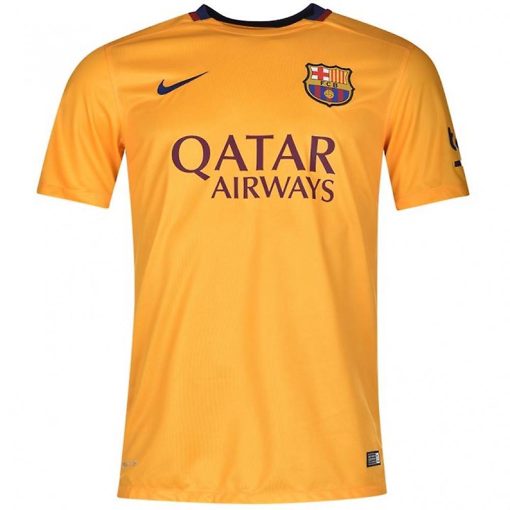 2015-2016 Barcelona Away Nike Football Shirt