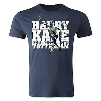 Harry Kane Tottenham Spieler T-Shirt (Navy) - Kinder