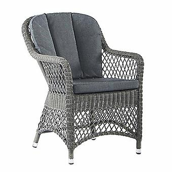 Alexander Rose Monte Carlo Open Weave Armchair with Cushions