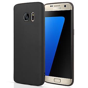 Samsung Galaxy S7 borde silicona mate - negro
