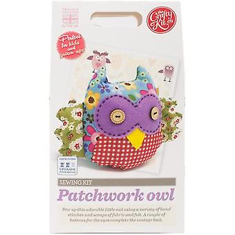 The Crafty Kit Co. Sewing Kit-Patchwork Owl SK-0222