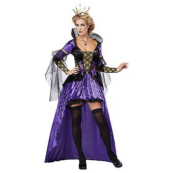 Böse Königin Märchen Malefizia Schnee weiße Frauen Kostüm