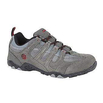 Mens Hi Tec Leather Real Suede Hiking Walking Trail Lace Up Shoes