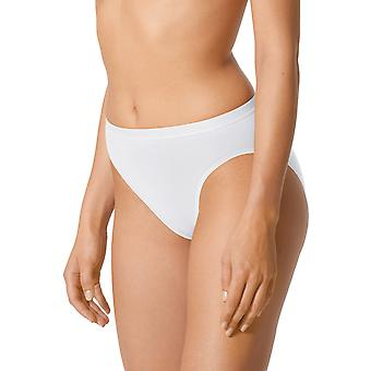 Mey 89603-1 Women's Best Of White Solid Colour Knickers Panty Brief