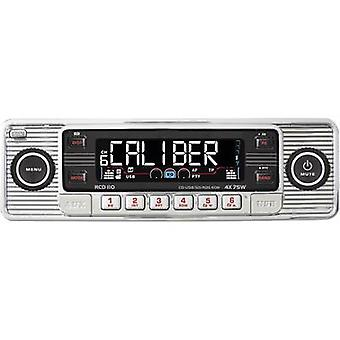 Car stereo Caliber Audio Technology RCD-110 Chrom Retro design