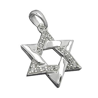 Pendant 'star of david' silver 925