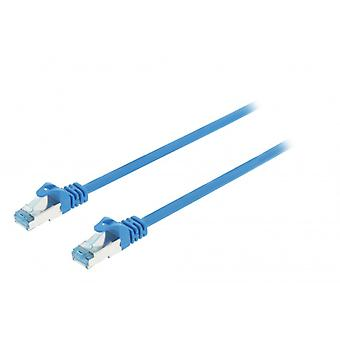 ValueLine CAT6a S/FTP network cable RJ45 (8P8C) male to RJ45 (8P8C) Male 1.00 m blue