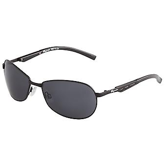 Classic sunglasses for men by Burgmeister with 100% UV protection | sturdy metal frame, high quality sunglasses case, microfiber glasses pouch and 2 year warranty | SBM114-131 Göteborg