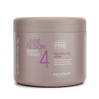 AlfaParf Lisse Design Keratin Therapie Rehydration Maske (Salon Größe) 500ml/17,63 oz