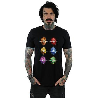 Męskie Marvel Avengers Infinity wojny Infinity kamienie T-Shirt