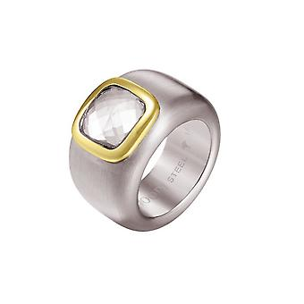 Joop women's ring stainless steel Silver CORA JPRG10629C1