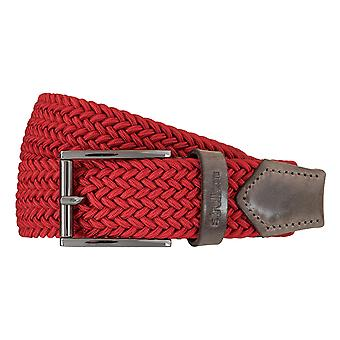 Strellson belts men's belts woven belt stretch belt red 5951
