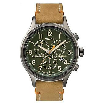 Timex Mens Scout Chronograph Green Dial TW4B04400 Watch