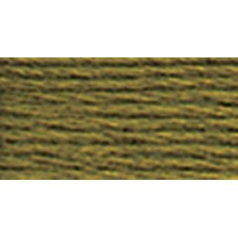 DMC Pearl Cotton Skein Size 3 16.4yd-Very Dark Olive Green