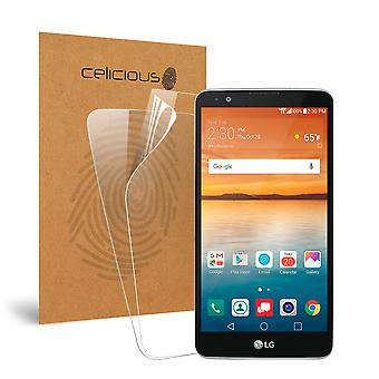 Celicious Vivid Invisible Screen Protector for LG Stylo 2 V [Pack of 2]