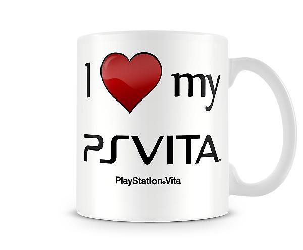 I Love My PSVita Printed Mug