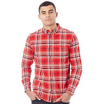 DC Tango Red South Ferry Long Sleeved Shirt