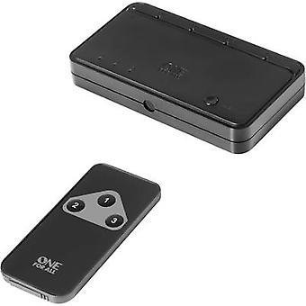 Uno para todos SV 1630 3 puertos HDMI interruptor de modo de reproducción 3D, pantalla LED + control remoto 1080 pix