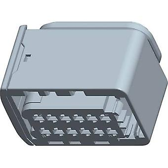 TE Connectivity Socket enclosure - cable HDSCS, MCP Total number of pins 12 2-1703639-1 1 pc(s)