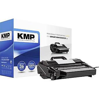 KMP Toner cartridge replaced Lexmark T650H21E, X651H21E Compatible Black 25000 pages L-T66