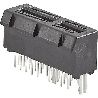 FCI Pin strip connector Total number of pins 64 Contact spacing: 2 mm 10018783-11111TLF 1 pc(s)