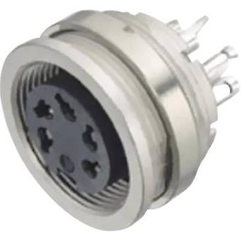 Binder 09-0320-00-05 Miniature Round Plug Connector Series 581 And 680 Nominal current (details): 5 A Number of pins: 5 Stereo-DIN