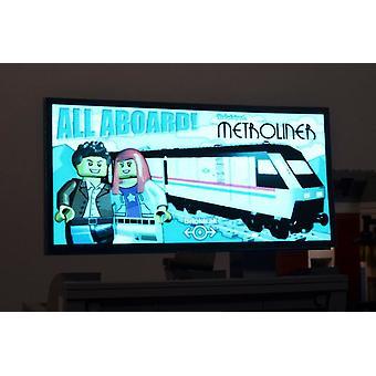 Brickstuff Bricktrak Metroliner Animated Billboard  - KIT23-MT