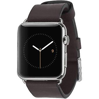 Case-Mate 42mm Apple Watch Signature Leather Strap - Black
