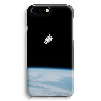 iPhone 8 Plus Full Print Case (Glossy) - Alone in Space